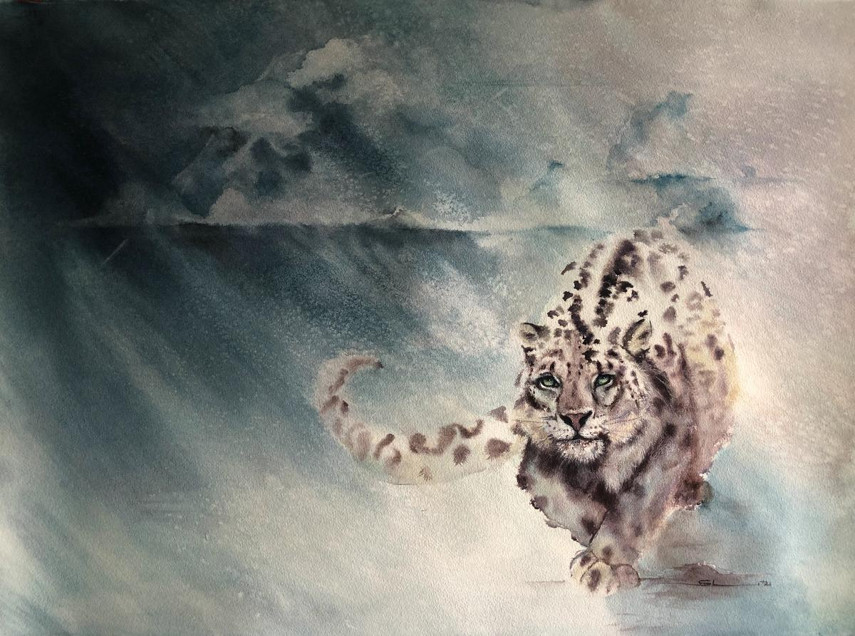 Add Artwork   Wallhanging by Sandi Lear   Artists for Conservation