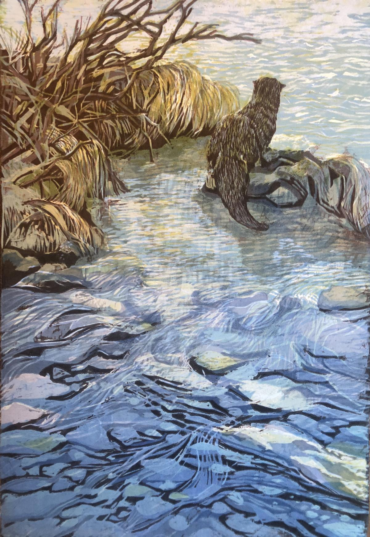 Add Artwork   Wallhanging by Melinda Plank   Artists for Conservation