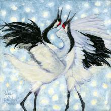 Red-crowned Crane, Japanese Crane, Manchurian Crane by AFC