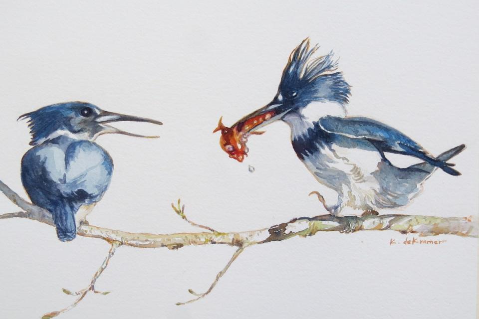 Add Artwork | Wallhanging by Karyn deKramer | Artists for Conservation