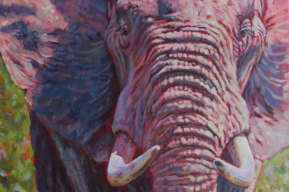 Add Artwork | Wallhanging by Gregory Wellman | Artists for Conservation