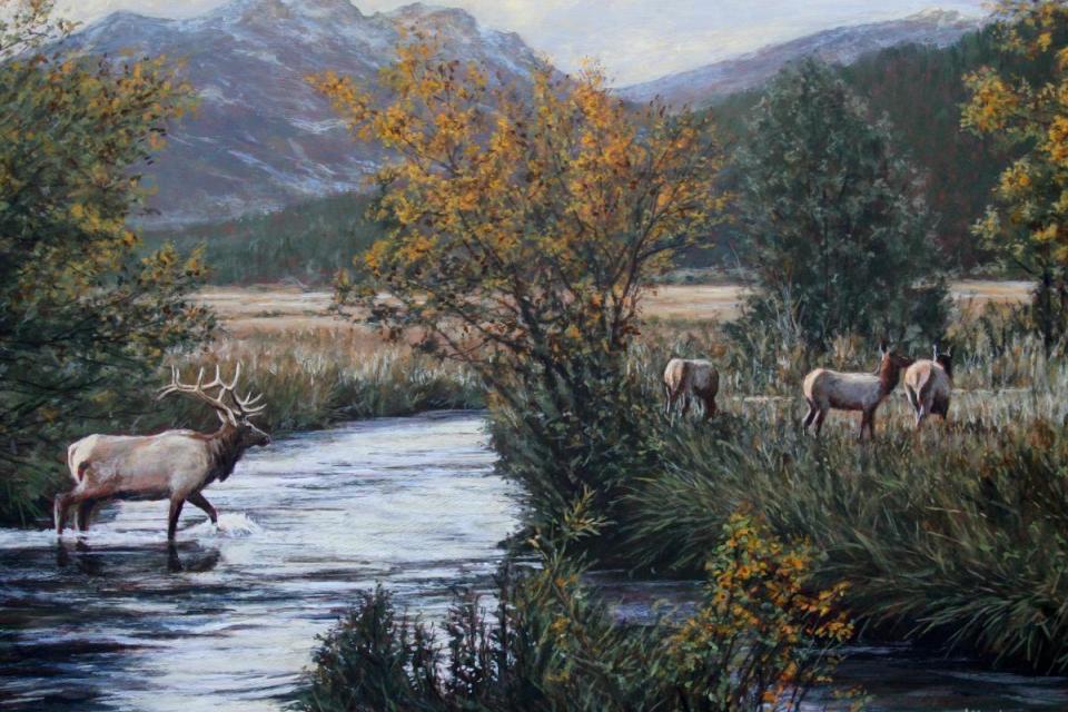 Add Artwork | Wallhanging by Tom Altenburg | Artists for Conservation