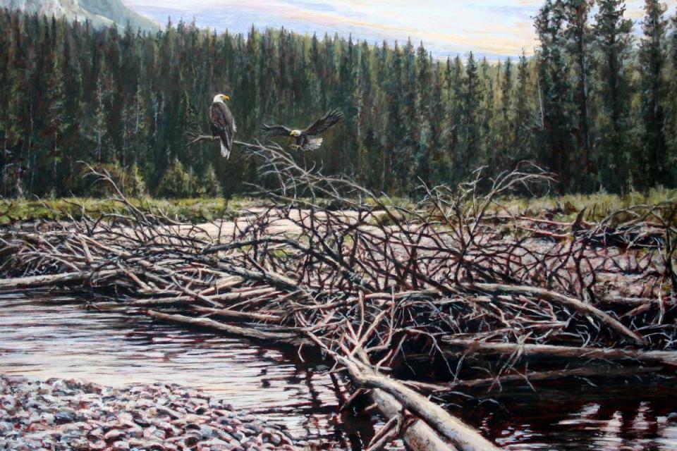 Edit Artwork | Wallhanging by Tom Altenburg | Artists for Conservation