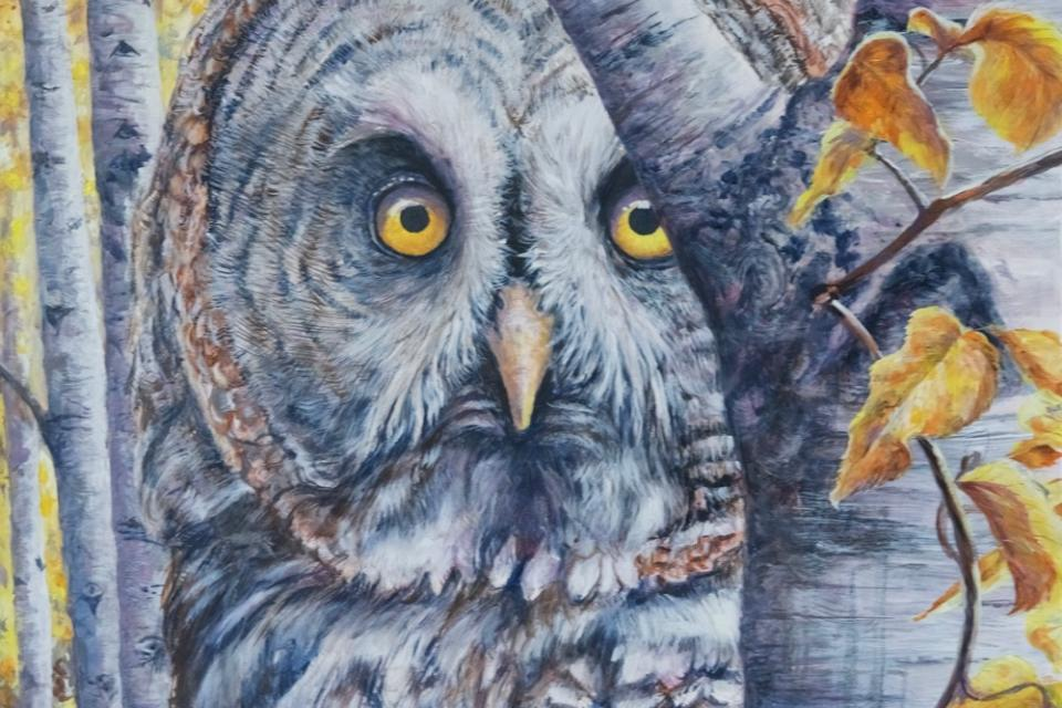 Add Artwork | Wallhanging by Peter Blackwell | Artists for Conservation