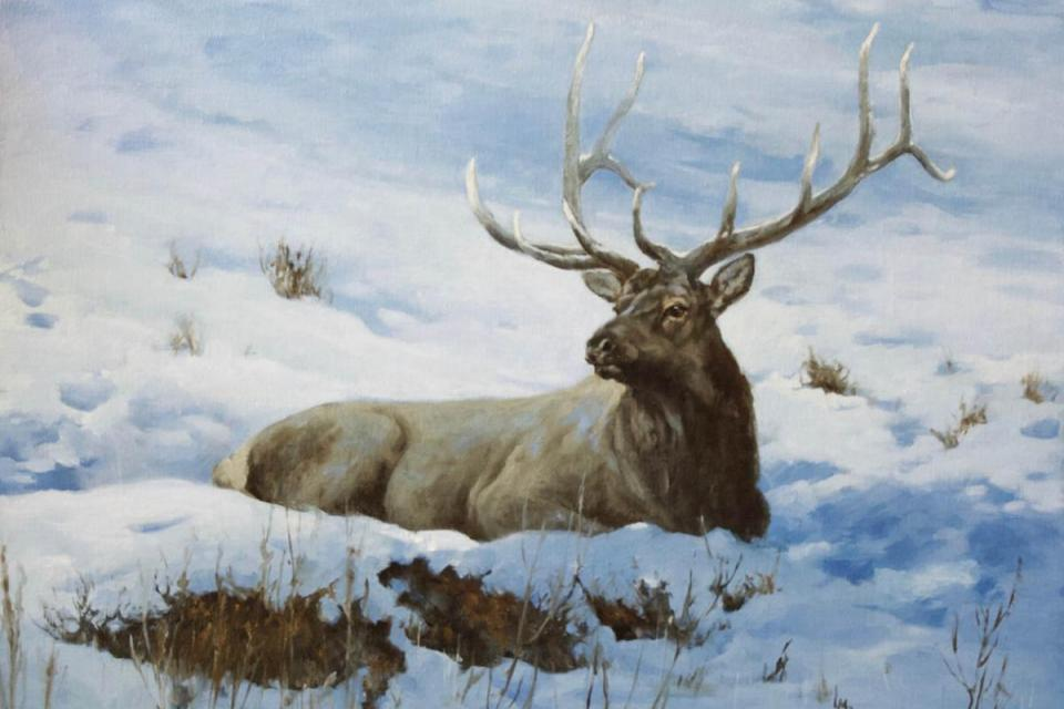 Add Artwork | Wallhanging by Linda Budge | Artists for Conservation