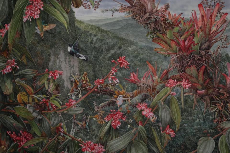 Add Artwork | Wallhanging by Daniel Davis | Artists for Conservation