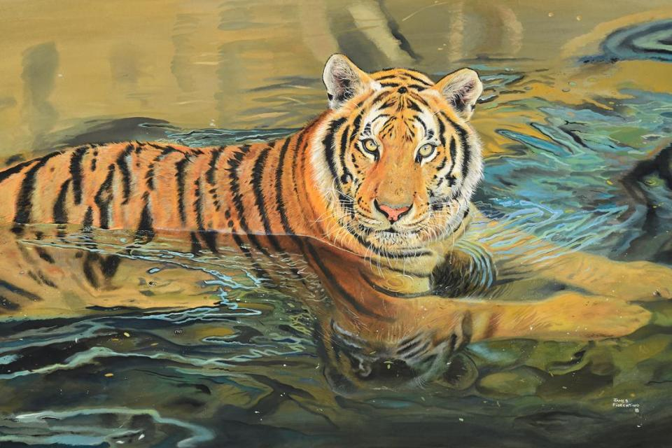 | Wallhanging by James Fiorentino | Artists for Conservation
