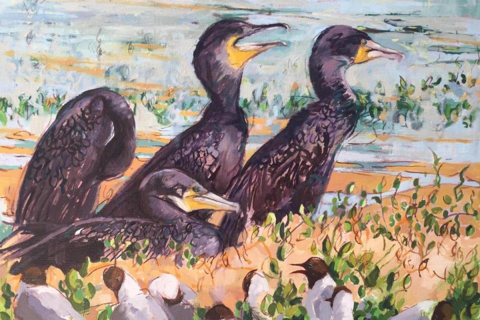 Add Artwork   Wallhanging by Lorna Hamilton   Artists for Conservation
