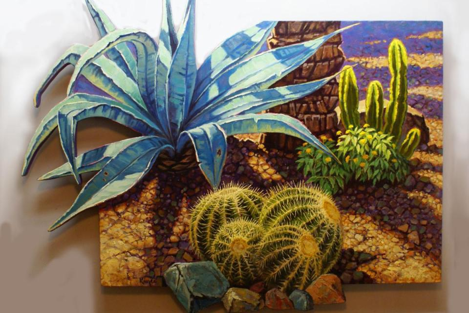 Add Artwork   Wallhanging by Jack Koonce   Artists for Conservation