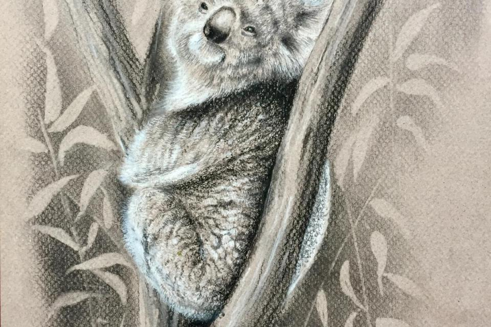 | Wallhanging by Krish Krishnan | Artists for Conservation