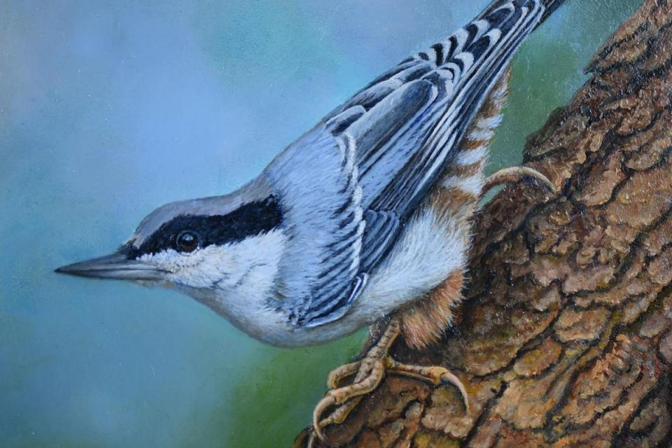 Edit Artwork | Wallhanging by Yvette Lantz | Artists for Conservation