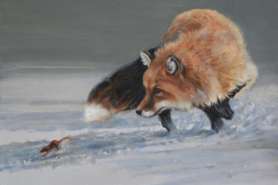 Add Artwork | Wallhanging by Amy Larson | Artists for Conservation