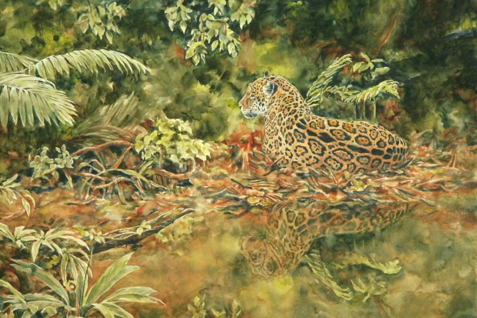 Edit Artwork | Wallhanging by Jan Lutz | Artists for Conservation