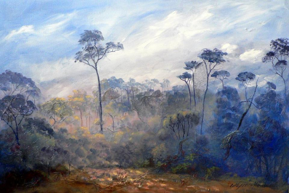 Add Artwork | Wallhanging by Cathy McClelland | Artists for Conservation