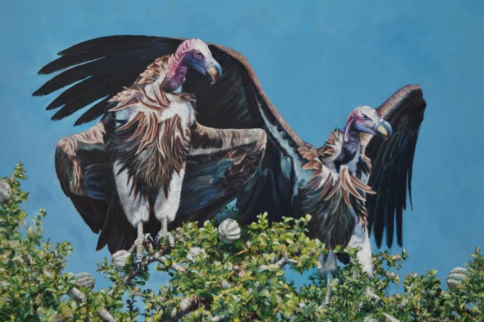 Add Artwork   Wallhanging by Michelle McCune   Artists for Conservation