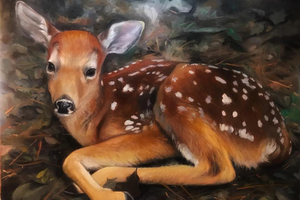 Add Artwork   Wallhanging by Denise Monaghan   Artists for Conservation