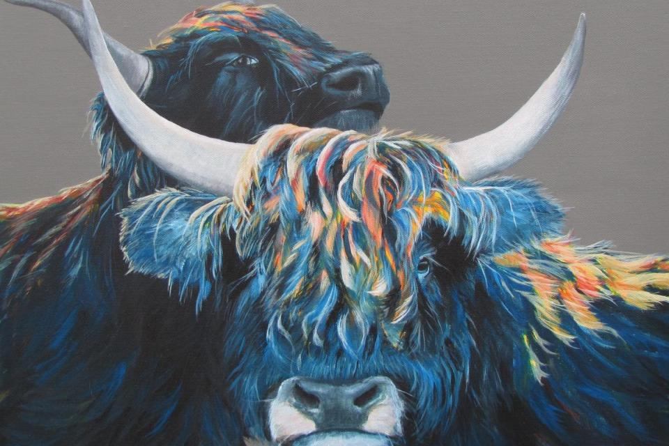 Edit Artwork   Wallhanging by Elissa Ewald   Artists for Conservation