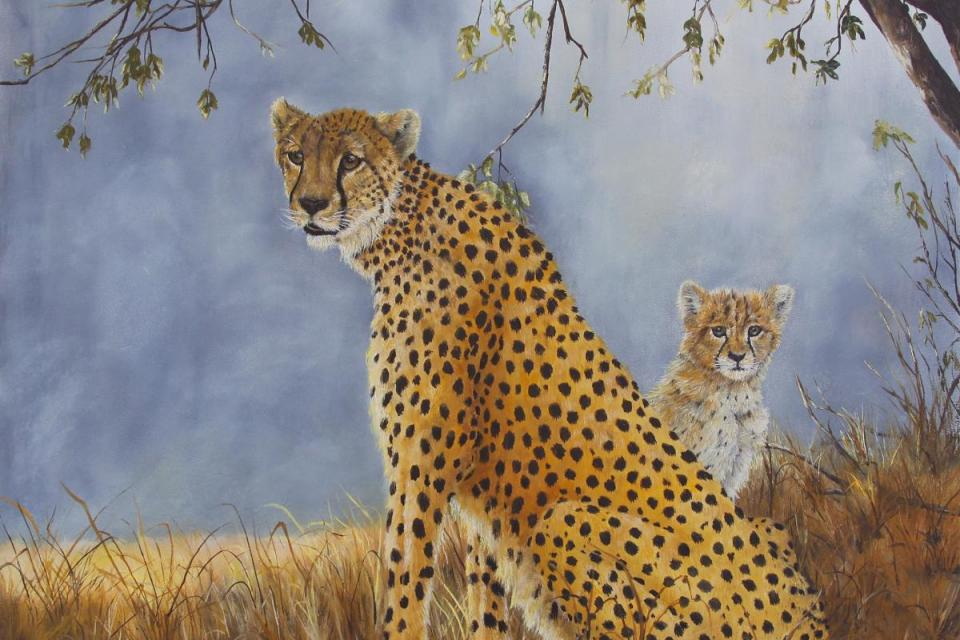 Add Artwork | Wallhanging by Johanna Lerwick | Artists for Conservation