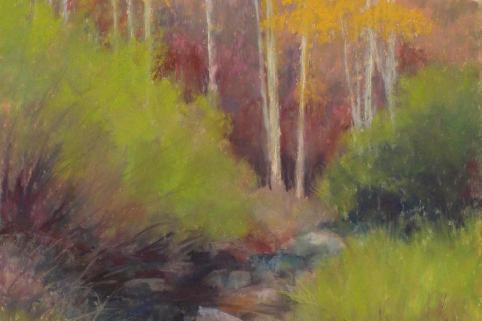Beginning and Intermediate Pastel with Sandra Place
