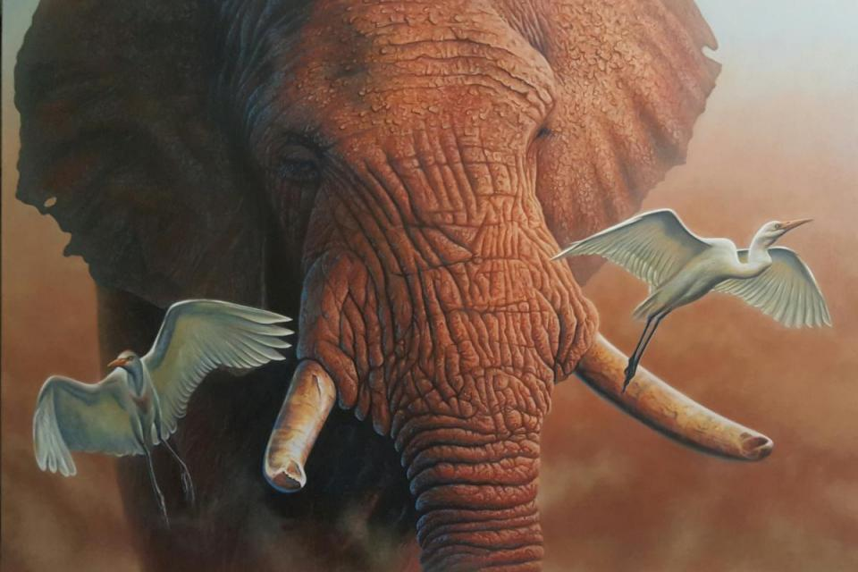 Edit Artwork | Wallhanging by Jerry Ragg | Artists for Conservation