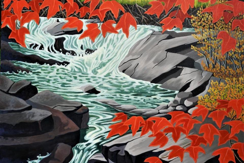 Edit Artwork   Wallhanging by Linda Sorensen   Artists for Conservation
