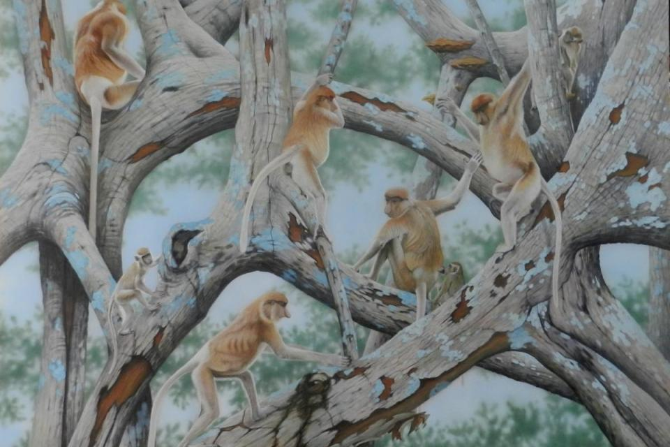 | Wallhanging by Sandra Temple | Artists for Conservation