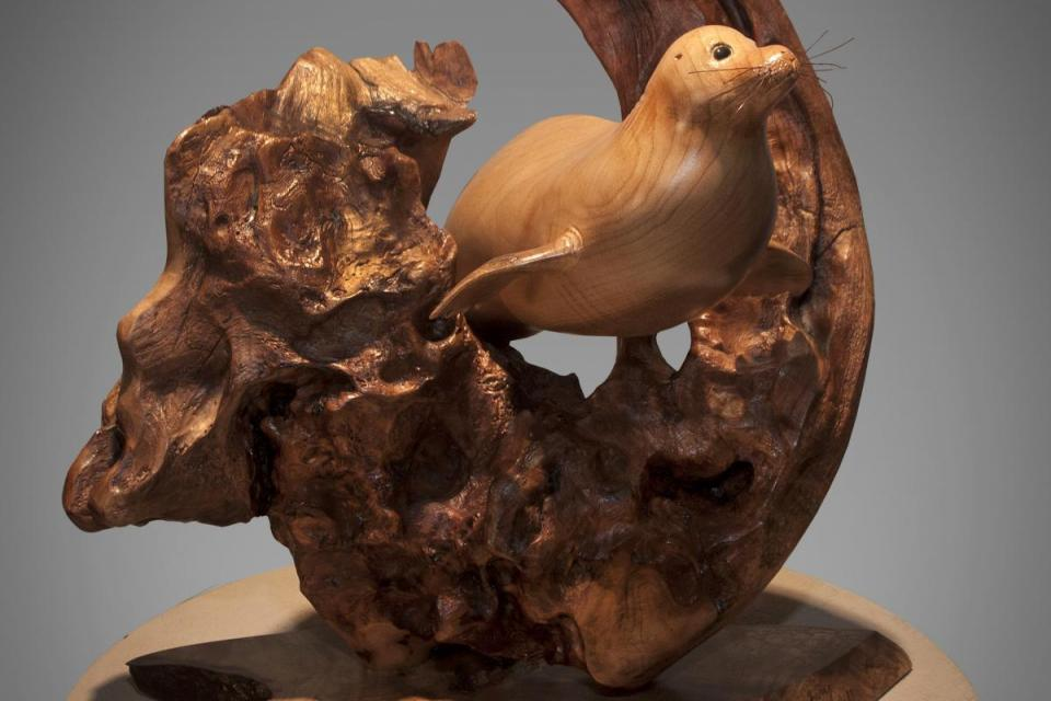 Add Artwork | Sculpture by Terry Woodall | Artists for Conservation
