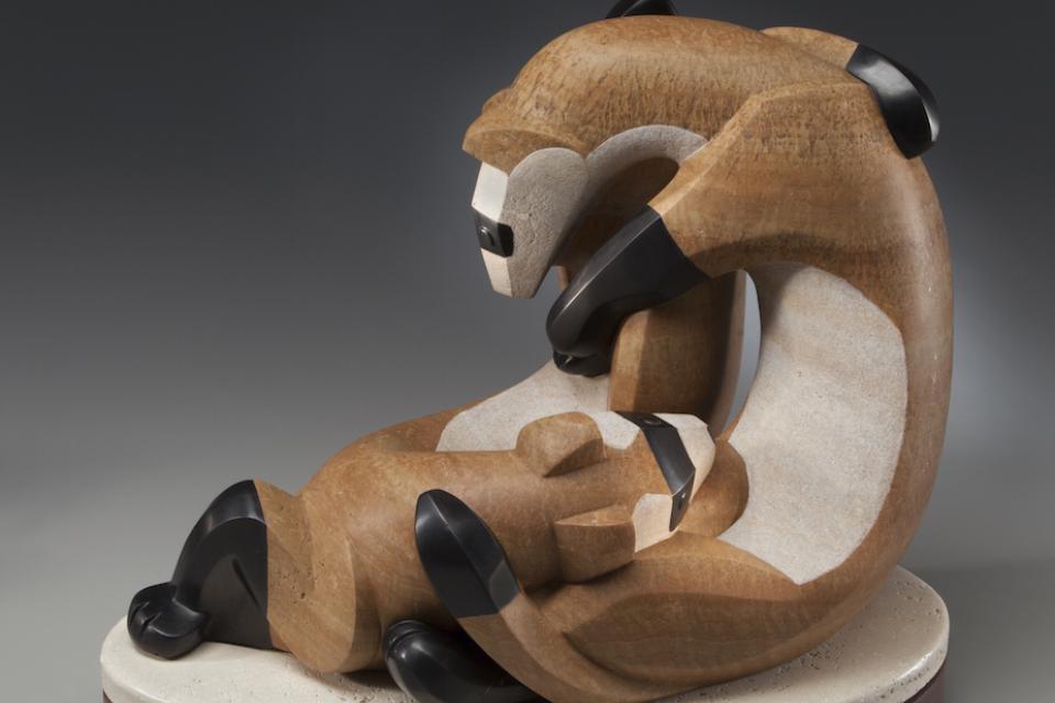 Edit Artwork   Sculpture by Ellen Woodbury   Artists for Conservation