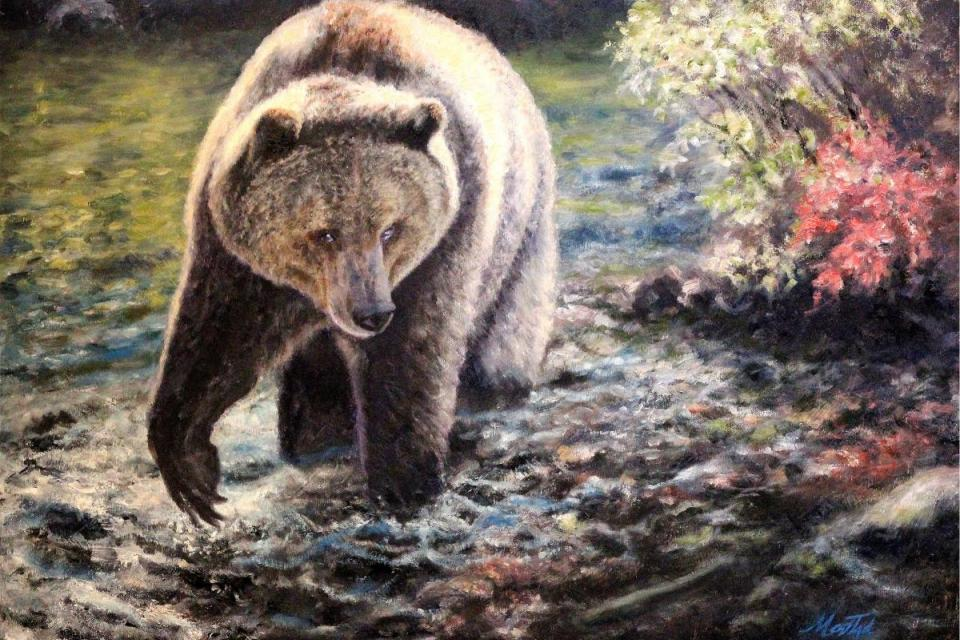Add Artwork | Wallhanging by Tom Mostad | Artists for Conservation