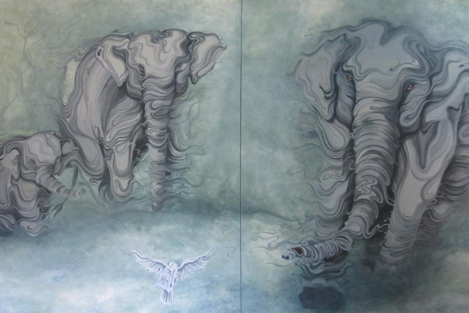 Add Artwork | Wallhanging by Christine Das | Artists for Conservation