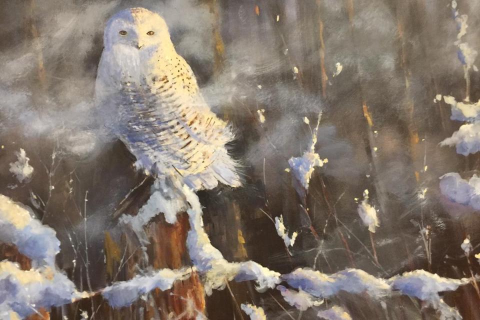 Add Artwork | Wallhanging by Sandra Strohschein | Artists for Conservation