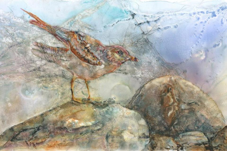 Edit Artwork | Wallhanging by Katherine Weber | Artists for Conservation