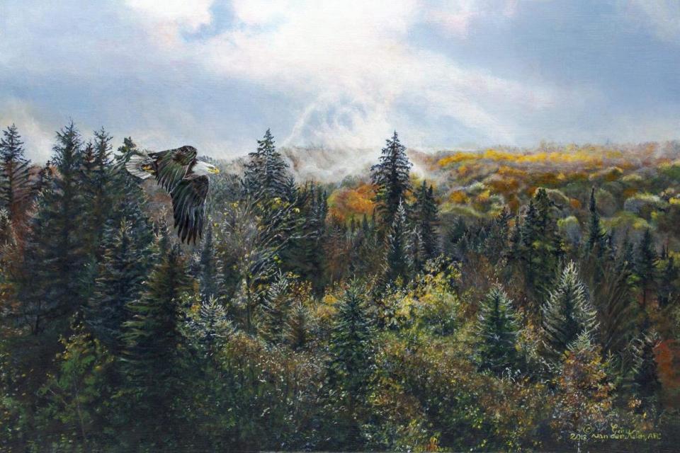 Add Artwork | Wallhanging by Gery van der Kelen | Artists for Conservation