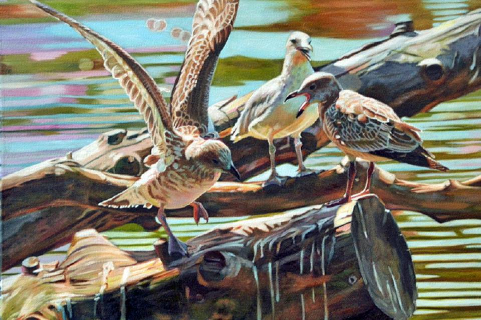 Add Artwork | Wallhanging by Kelly McNeil | Artists for Conservation
