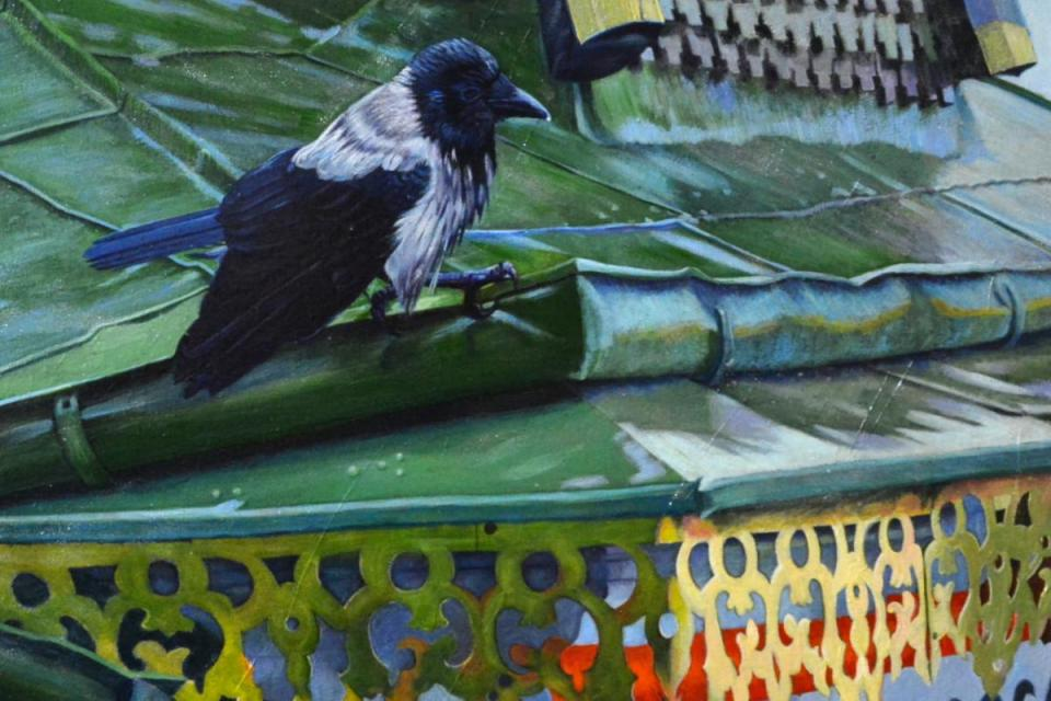 Edit Artwork | Wallhanging by Kelly McNeil | Artists for Conservation