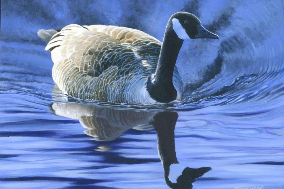 Edit Artwork | Wallhanging by Frederick Szatkowski | Artists for Conservation