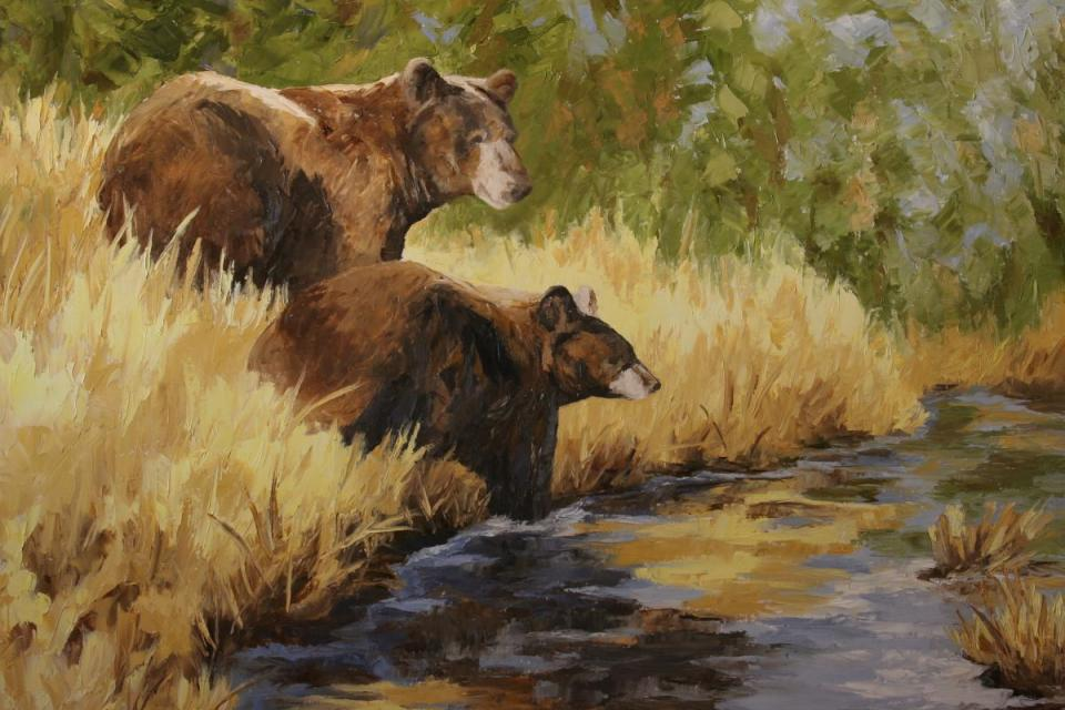 Edit Artwork | Wallhanging by Debbie Griest | Artists for Conservation