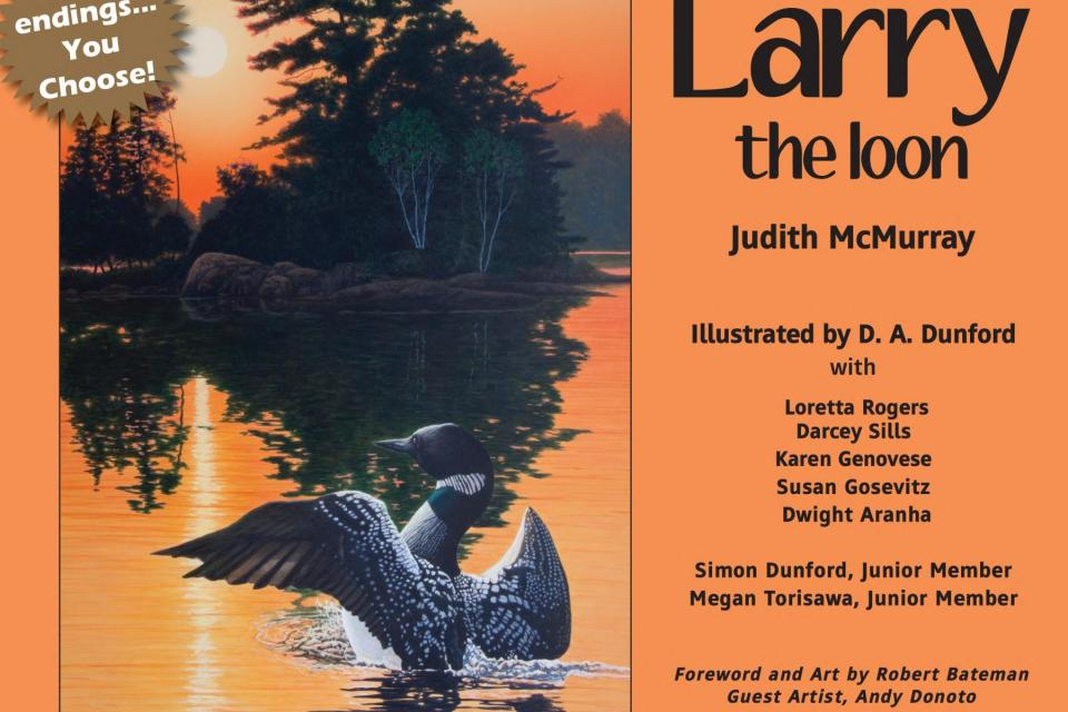<em>Edit Conservation Project/Cause</em> Larry The Loon by Judith McMurray -  | Susan Gosevitz