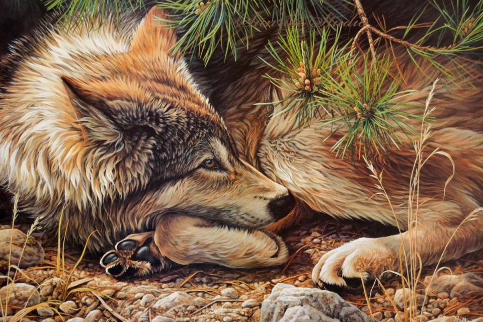 Add Artwork   Wallhanging by Luke Raffin   Artists for Conservation