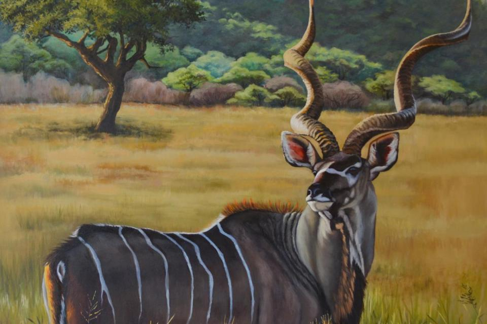 Edit Artwork   Wallhanging by Suzanne Barrett Justis   Artists for Conservation