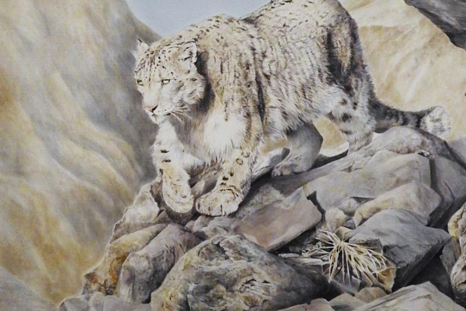 Add Artwork | Wallhanging by Ute Bartels | Artists for Conservation