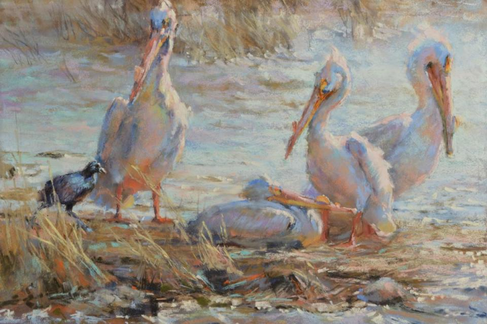 Edit Artwork | Wallhanging by Sharon Bamber | Artists for Conservation