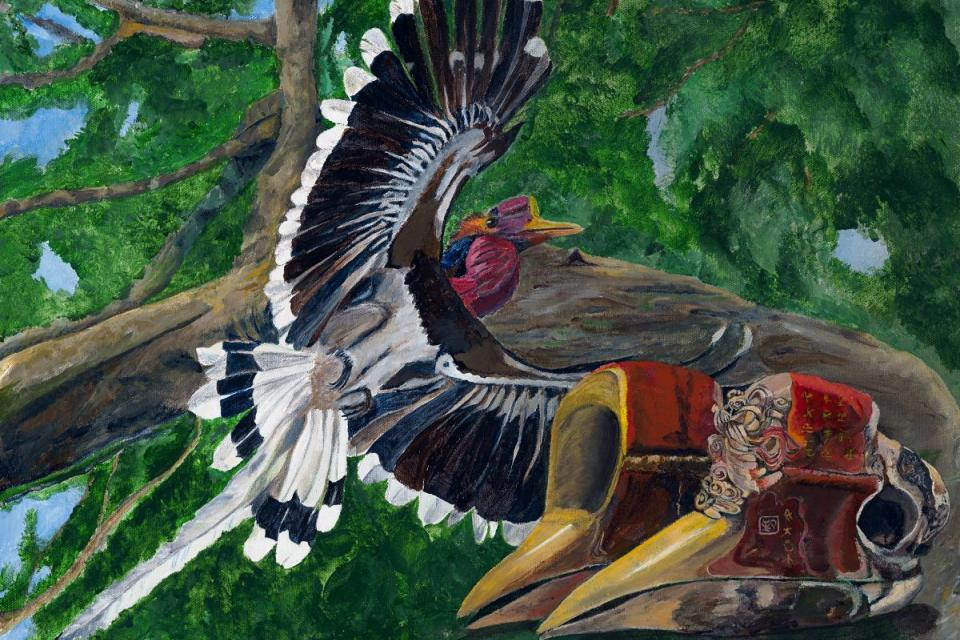 Add Artwork | Wallhanging by Lynn Waltke | Artists for Conservation