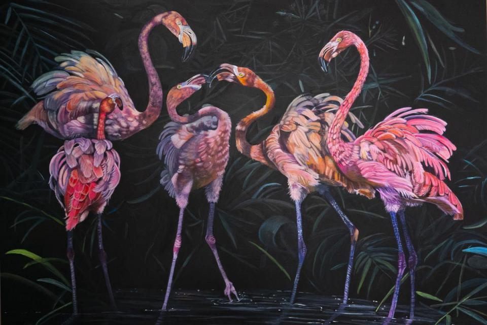 Add Artwork   Wallhanging by Cher Anderson   Artists for Conservation