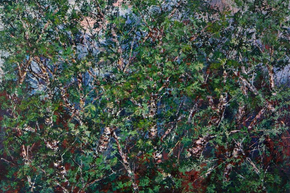 | Wallhanging by Donald Rainville | Artists for Conservation