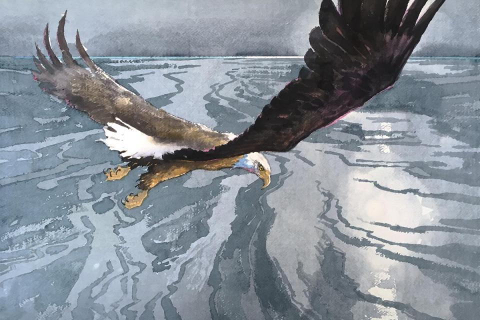 Edit Artwork | Wallhanging by David Rankin | Artists for Conservation