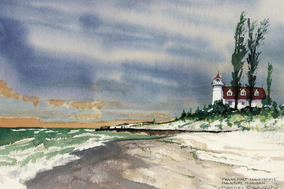Lighthouses, Seascapes & Skies, Cleveland, Ohio with David Rankin