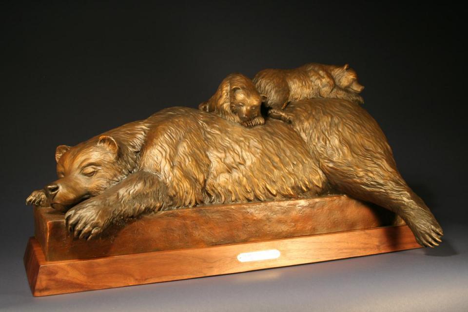 Edit Artwork   Sculpture by Chris Navarro   Artists for Conservation