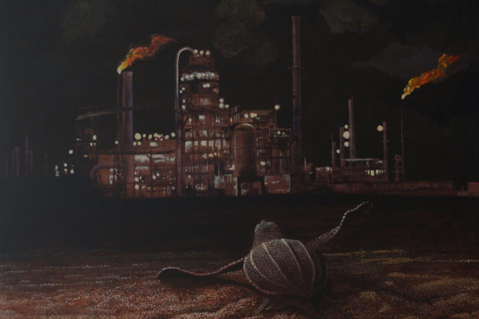 | Wallhanging by Carel Brest van Kempen | Artists for Conservation