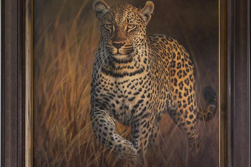 Add Artwork | Wallhanging by Ilse de Villiers | Artists for Conservation